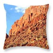 Arizona Sandstone Throw Pillow