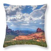 Arizona-sedona Throw Pillow