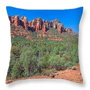Arizona-sedona-soldier's Pass Trail Throw Pillow