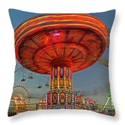 Arizona State Fair Throw Pillow