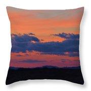 Arizona Sunset 10 Throw Pillow