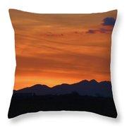 Arizona Sunset 12 Throw Pillow