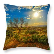 Arizona Sunset 28 Throw Pillow