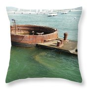 Arizona Turret Throw Pillow