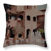 Arizona Water Throw Pillow