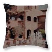 Arizona Water Throw Pillow