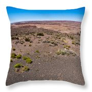 Arizona's Painted Desert #2 Throw Pillow