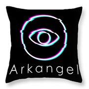 Arkangel Throw Pillow