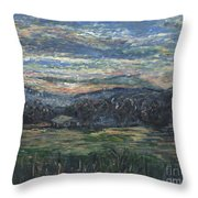 Arkansas Sunrise Throw Pillow