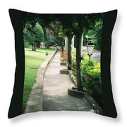 Arles Walkway Throw Pillow