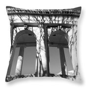 Arlington Amphitheater From The Outside -- 2 Throw Pillow