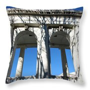 Arlington Amphitheater From The Outside Throw Pillow