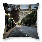 Arlington Hotel - Hot Springs, Arkansas Throw Pillow