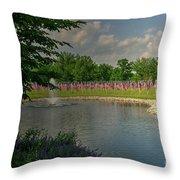 Arlington Memorial Gardens Throw Pillow