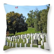 Arlington National Cemetery Throw Pillow
