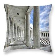 Arlington National Cemetery - Memorial Amphitheater Throw Pillow
