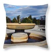 Arlington National Cemetery Memorial Fountain Throw Pillow