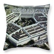 Arlington: Pentagon Throw Pillow