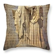 Arm On Shoulder Throw Pillow