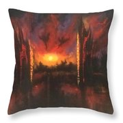 Armageddon Throw Pillow