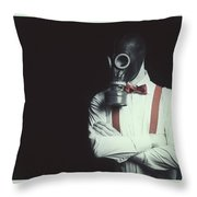 Armageddon Portrait Throw Pillow