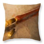 Armenian Duduk Throw Pillow