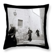 Armenian Quarter Jerusalem Throw Pillow