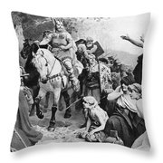 Arminius Throw Pillow