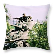 Armor Support Throw Pillow