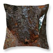 Armpit Throw Pillow