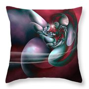 Arms Of Inspiration Throw Pillow