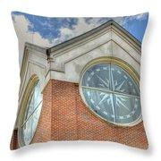 Armstrong University Tower Throw Pillow