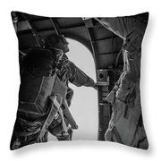 Army Airborne Series 3 Throw Pillow