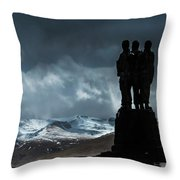 Army Commando Memorial  Throw Pillow