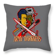 Army Of Darkness Ash Throw Pillow
