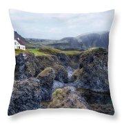 Arnastapi - Iceland Throw Pillow