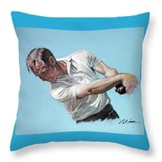 Arnold Palmer- The King Throw Pillow