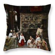 Arnosa Choirboys Throw Pillow