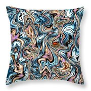 Arobic Throw Pillow