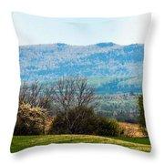 Aroostook Landscape Throw Pillow