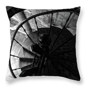 Around And Above Throw Pillow