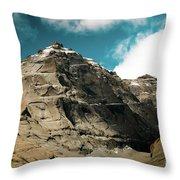 Around Holy Kailas Himalayas Tibet Yantra.lv Throw Pillow