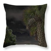 Around Midnight Throw Pillow