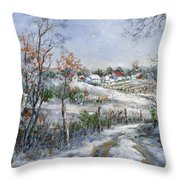 Around The Bend Sold Throw Pillow