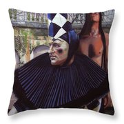 Arousing Suspicion Throw Pillow