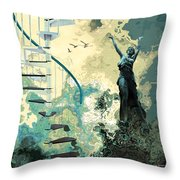 Arpeggiana Throw Pillow
