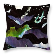 Arrangement In The Abstract 2 Throw Pillow