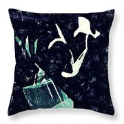 Arrangement In The Abstract Throw Pillow