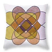 Arrangement Of Forms Throw Pillow