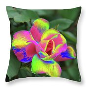 Array Of Color Throw Pillow
